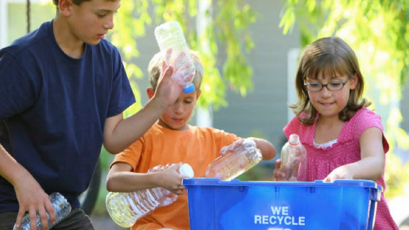 conservation tips for kids- recycling