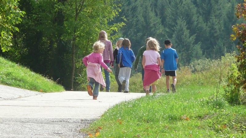 conservation tips for kids - walking