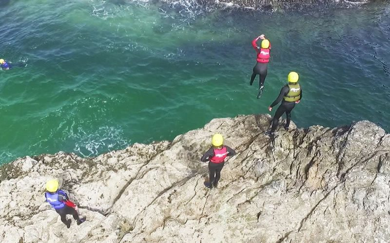 King Coaster - Coasteering in Cornwall