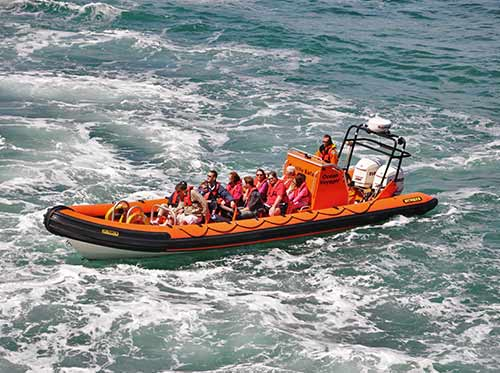padstow skippered boat hire