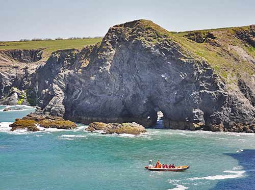 seal cave experience padstow cornwall